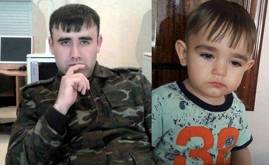 """Oğluna adı qoyulan ŞƏHİDİN sonuncu zəngi: """"Özünüzdən muğayat olun, gələ bilməyəcəm"""" - FOTO"""
