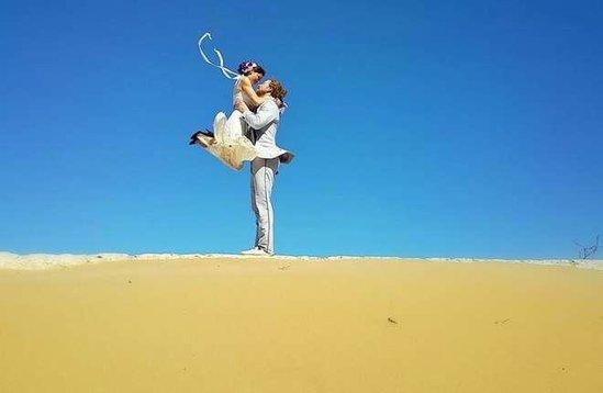 Qeyri-adi rekord: 83 günə 38 ölkədə evləndilər - FOTO