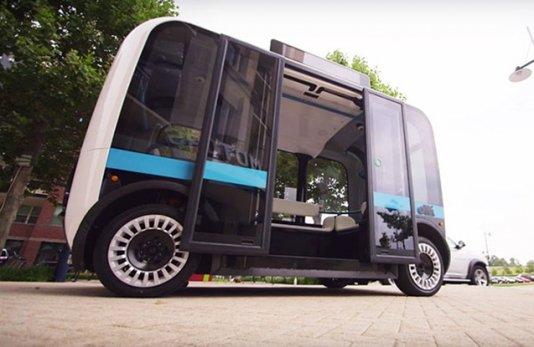 Sürücüsüz ilk avtobuslar xəttə buraxılıb - FOTO