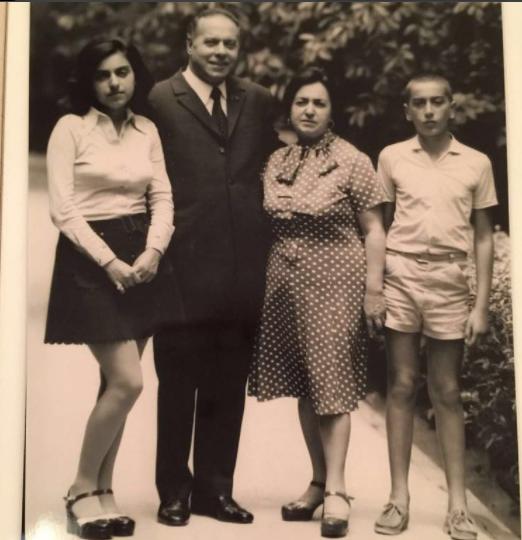 Sevil Əliyevanın oğlundan anasına ÖZƏL TƏBRİK - FOTO
