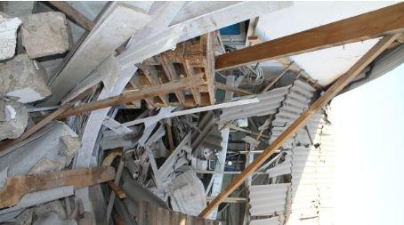 Bakıda yaşayış binasında güclü partlayış: ev sahibi yandı, təxliyə olunanlar var