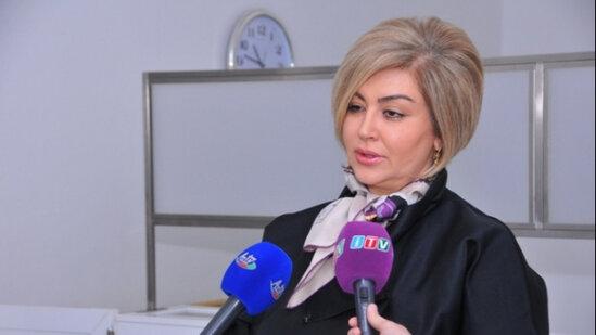 Səbail Rayon İcra Hakimiyyəti başçısının müavini Xalidə Bayramova ile ilgili görsel sonucu
