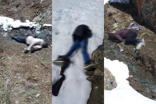 ŞOK! İran-Türkiyə sərhədində 39 nəfərin meyiti tapıldı-FOTO