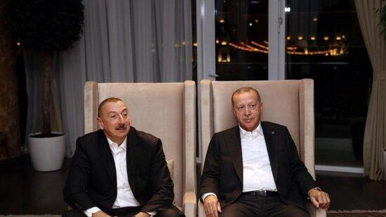 Azərbaycan və Türkiyə prezidentləri dünyaya BELƏ MESAJ VERDİ - FOTOLAR