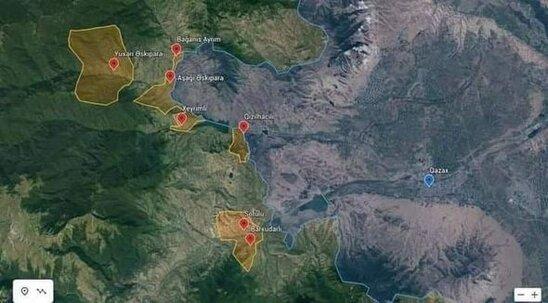SON DƏQİQƏ! Rəsmən açıqlandı: Bu ərazilər də Azərbaycana qaytarılır