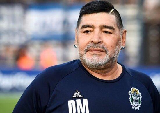 Maradonanin qadin paltarinda GORUNTULERİ YAYİLDİ-VİDEO
