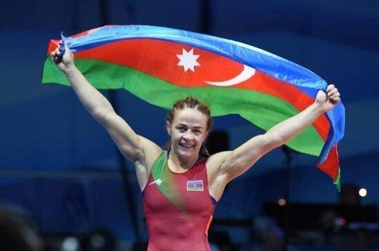 Mariya Stadnik 8-ci defe Avropa cempionu oldu - VİDEO