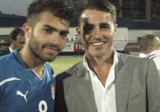 İtaliyali futbolcu qardashinin xatiresine hesr olunmush oyun zamani OLDU