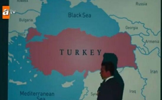 Meshhur serialda Azerbaycan torpaqlari Ermenistan erazisi kimi gosterilib