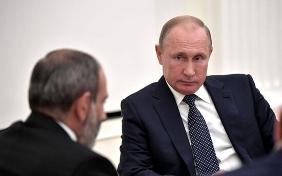 Sabah Pashinyanla Putinin gorushu olacaq