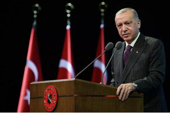 """Erdogan: """"Artiq sebr kasamiz dashib"""""""