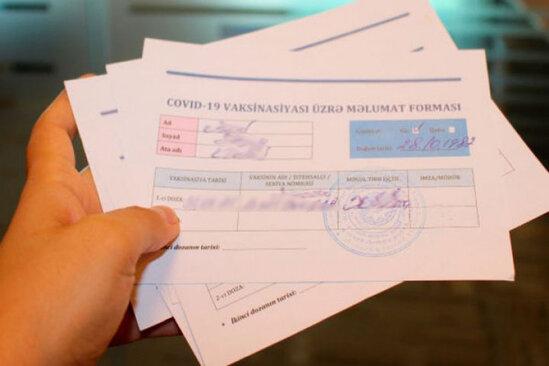Saxta COVID-19 pasportu satan tibb işçiləri tutuldu