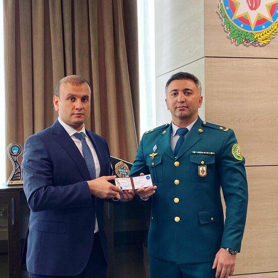 Dunya cempionu Fuad Zeynalov boyuk meshqci adina layiq gorulub- FOTO