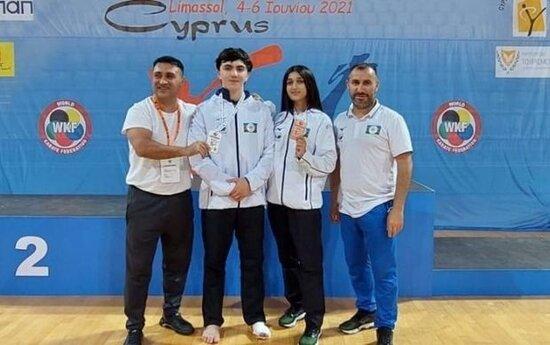 Karatecilerimiz medal qazandilar