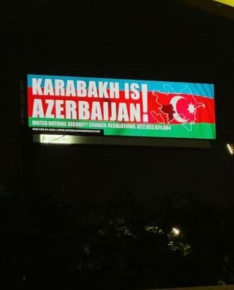 """""""Karabakh is Azerbaijan"""" şüarı Mayamidə - FOTO"""