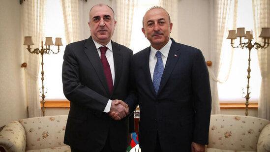 Azərbaycan və Türkiyə XİN başçıları Bakıda görüşdü