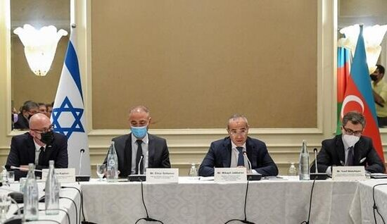 İsraille Azerbaycan arasinda deyirmi masa kecirildi