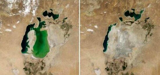 NASA-dan qorxudan fotolar-Dünyanın sonu yaxınlaşır