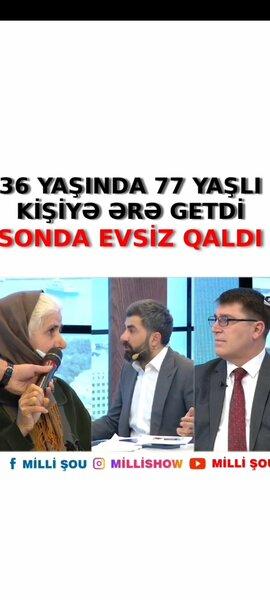 Azərbaycanda qadın özündən 41 yaş böyük kişi ilə EVLƏNDİ - FOTO