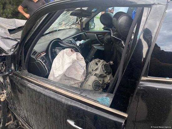 Agdamda AGİR QEZA: Olen ve yaralananlar var - FOTO