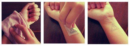 Картинки по запросу сделать временное тату в домашних условиях